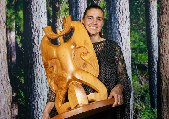 Northland Skilled Forestry Professional of the Year 2019: Michelle Harrison, Wise on Wood